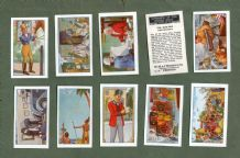 Cigarette cards set Romance of the Royal mail 1931 by Wood